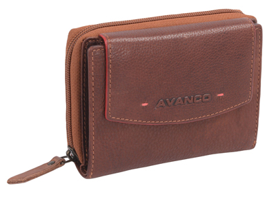 AVANCO red accent